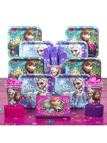 Frozen Deluxe Birthday Party Kit