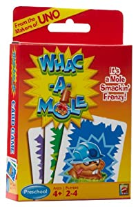 Whac-A-Mole Card Game