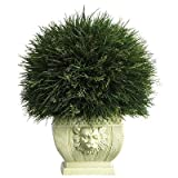 51Z iSF56YL. SL160  Nearly Natural 6539 Potted Grass with White Vase, Green Reviews