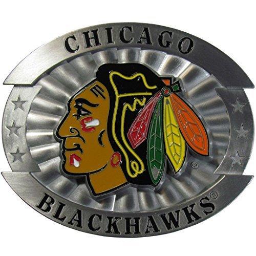 nhl-chicago-blackhawks-oversized-belt-buckle-x-large-by-siskiyou