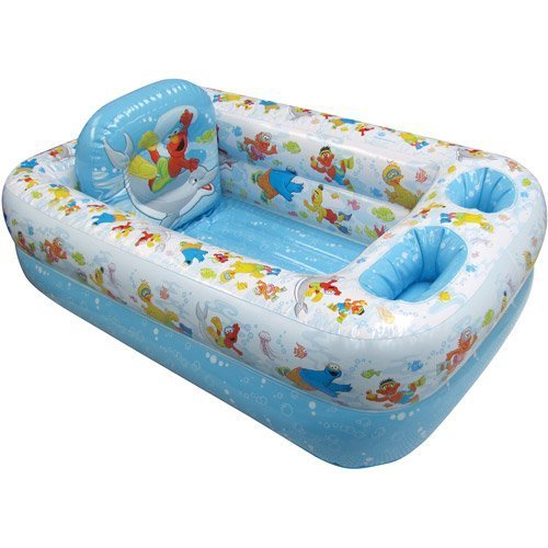 Sesame Street - Inflatable Bathtub - 1