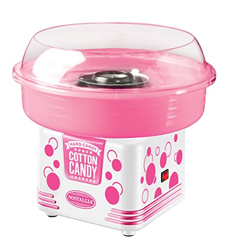 Cheapest Prices! Nostalgia Electrics PCM405WMLN Cotton Candy Maker, Pink/White