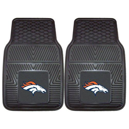 FANMATS NFL Denver Broncos Vinyl Heavy Duty Car Mat (Nfl Truck Accessories compare prices)