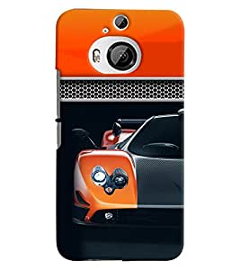 PRINTVISA Sports Car Case Cover for HTC One M9 Plus