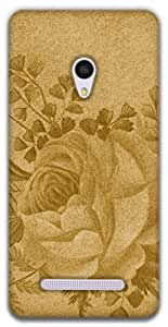 The Racoon Lean Rose hard plastic printed back case / cover for Asus Zenfone 5