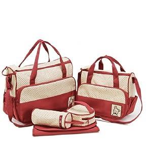 MANGO-Set 5 kits Bolso/Bolsa/Bolsillo Maternal Bebé para carro carrito biberón colchoneta comida pañal de MANGO
