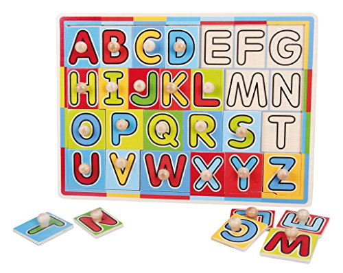 TOPBRIGHT See-Inside Alphabet Puzzle