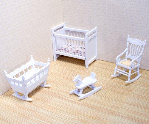 Imagen de Melissa & Doug Deluxe Doll - Muebles Casa Nursery