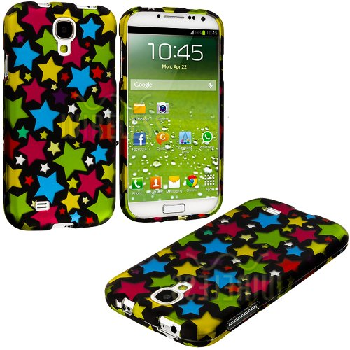 Images for myLife (TM) Colorful Star Overload Series (2 Piece Snap On) Hardshell Plates Case for the Samsung Galaxy S4