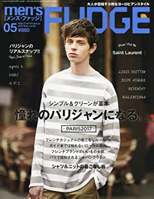 men's FUDGE 2017年 05 月号
