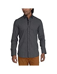 Urban Paris Men's Giza Cotton Regular Fit Shirt - B00QAYJY0M