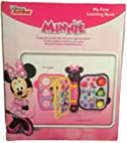 Disney Minnie Mouse Bow-Tique First Learning Book