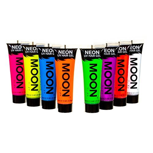 moon-glow-neon-uv-haargel-20ml-set-mit-8-produkten-machen-sie-sich-leuchtende-spikes
