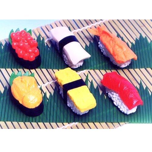 sushi-japanese-erasers-6-pc