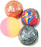 Toy - 15 X Mixed Colour Jet Bouncy Balls