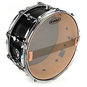 Amazon.com: Evans Clear 300 Snare Side Drum Head, 14 Inch ...