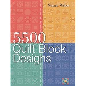 5,500 Quilt Block Designs