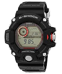 Casio G-Shock Digital Grey Dial Mens Watch - GW-9400-1DR (G485)