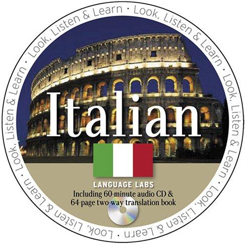 Italian Language Lab [With Italian Language Lab Book] (Look Listen and Learn!)