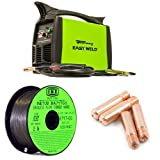 Forney Easy Weld 299 125FC Flux Core Welder with INETUB .030-Inch 2-Pound Carbon Steel Welding Wire and 4-Pack Contact Tip
