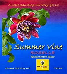 NV Summer Vine Roselle Passionfruit Wine 750 mL
