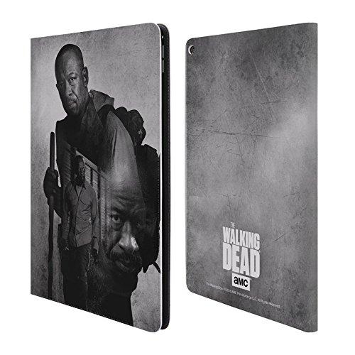 Ufficiale AMC The Walking Dead Morgan Doppia Esposizione Cover a portafoglio in pelle per Apple iPad Pro 12.9