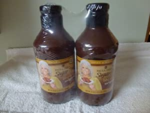 Paula Deen Sugar Free BBQ Sauce Special 2 Pack of 25 oz Jars