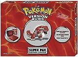 echange, troc GBA SP Rouge Collector avec motif Pokémon + 1 étui de transport + 1 jeu Pokémon Rubis