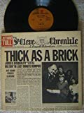 JETHRO TULL THICK AS A BRICK LP 1972 GATEFOLD COVER WITH NEWSPAPER INSERTS