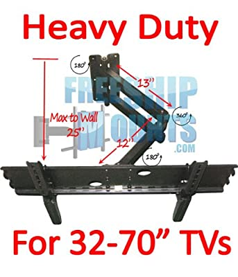 """Swivel arm Full Motion LCD LED Plasma TV Monitor Wall Mount Bracket Tilt 12-30/"""""""