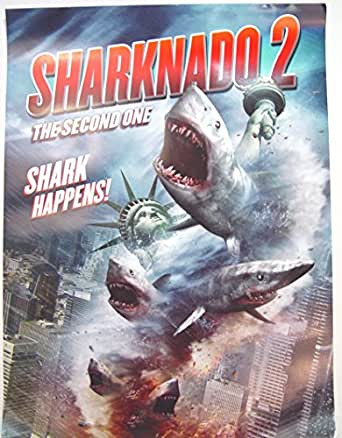 Sharknado 2 Poster Approx. 18 x 24 inches Comic Con 2014 ...