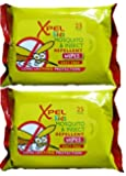 Xpel Kids Mosquito & Insect Repellent Wipes (2 Pack) - 25 Per Pack = 50