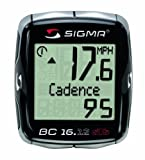 Sigma Sport BC16.12 STS CAD Double Wireless 16 Function Bicycle Computer with Cadence Sigma
