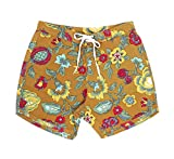 Salty's / ソルティーズ Flower Fill Boardies / 花柄サーフショーツ (32)