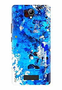 Noise Designer Printed Case / Cover for Lyf Wind 3 / Patterns & Ethnic / Splash Paints
