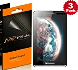 SUPERSHIELDZ- High Definition (HD) Clear Screen Protector For lenovo IdeaTab S5000 + Lifetime Replacements Warranty [3-PACK] - Retail Packaging