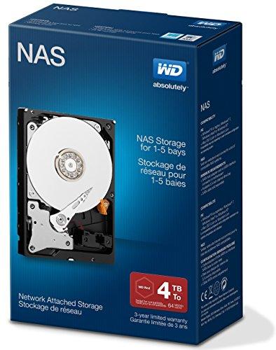 Western Digital 4TB RED interne Festplatte 3,5″ Desktop NAS Retail Kit (inkl. Einbau Set)