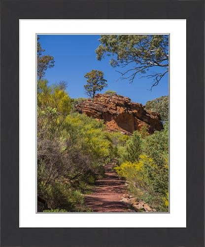 framed-print-of-wilpena-canyon-flinders-ranges-outback-south-australia