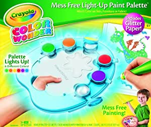 Buy Crayola Color Wonder Light-Up Paint Palette with ...