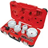 Milwaukee 49-22-4185 All Purpose Professional Ice Hardened Hole Saw Kit, 28-Piece