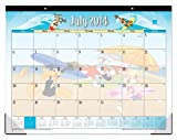 July 2014 - June 2015 Blue Sky Looney Tunes Desk Pad Calendar 22x 17