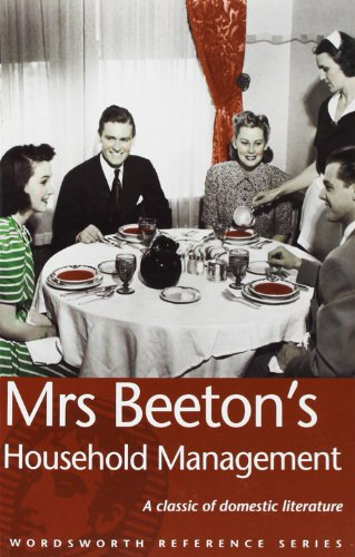 Mrs Beeton's Household Management (Wordsworth Reference) (Beeton Household Management compare prices)