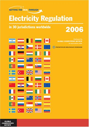 Getting the Deal Through: Electricity Regulation