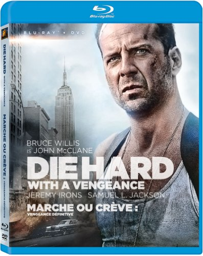 Blu-ray : Die Hard 3: Die Hard with a Vengeance (With DVD, Digital Theater System, Dolby, 2 Pack, Repackaged)