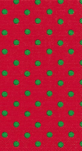 Caspari Dots Paper Guest Towel Package, Red and Green - Buy Caspari Dots Paper Guest Towel Package, Red and Green - Purchase Caspari Dots Paper Guest Towel Package, Red and Green (Caspari, Home & Garden, Categories, Kitchen & Dining, Kitchen & Table Linens, Holiday, Kitchen Linens)