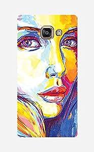ZAPCASE Printed Back Case for Samsung galaxy A7 2016 edition