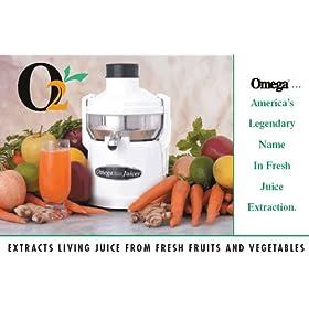 Omega Juicer Model O2