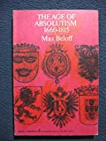 img - for the age of absolutism book / textbook / text book