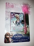Disney Frozen Diary with Lock & Marabou Pen