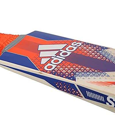adidas AY2584 Pellara Club Cricket Bat, Men's Short Handle (Red)